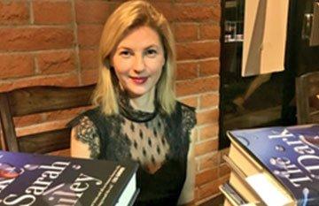 SARAH BAILEY – WHERE THE DEAD GO (image of author)