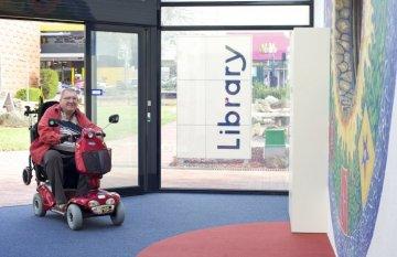 Wheelchair disability access
