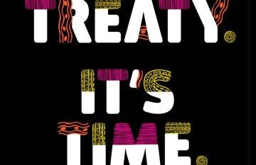 Treaty. It's Time. Logo