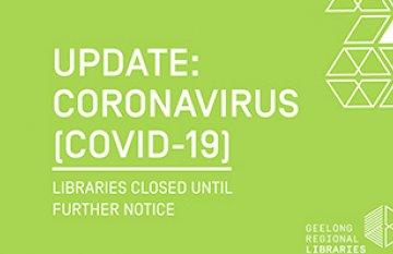 Graphic and Text: Update Coronavirus (COVID-19)